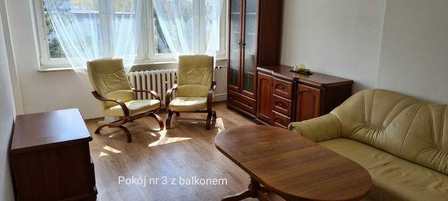3 - pokojowe mieszkanie  przy ul. Chodkiewicza (Bielawy) do wynajęcia