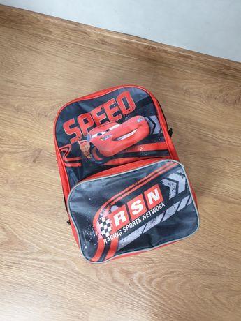 Plecak szkolny Zygzak McQueen  czerwony
