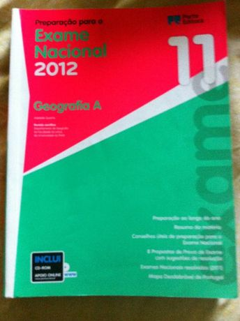 Exame Nacional 2012 Geografia A