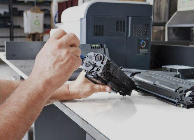 Заправка картриджей ремонт принтеров, Прошивка принтеров