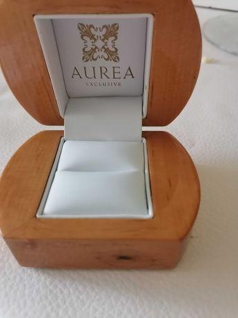 pierścionek zaręczynowy pudełko nowe