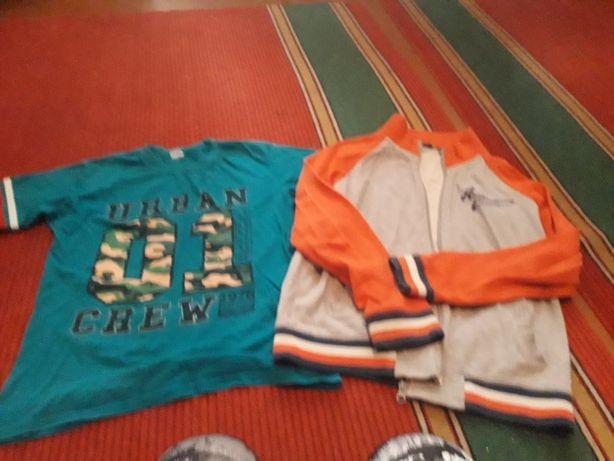 Набор футболка и олимпийка на подростка)