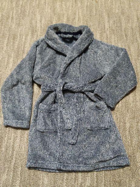 Детский махровый халат для мальчика 2 3 года