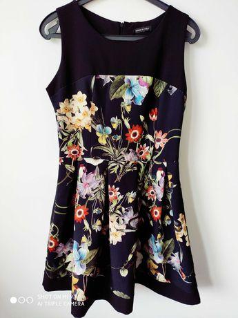 Sukienka kwiaty S