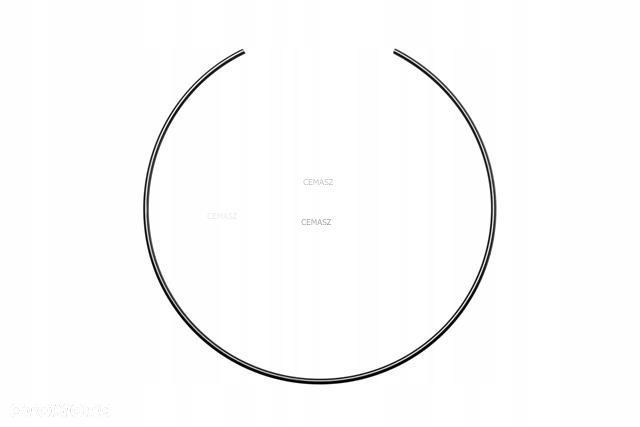 Pierścień stalowy piasty koła do Terex Fermec