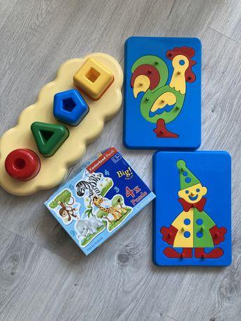 Набор пазлов для малышей 1-3