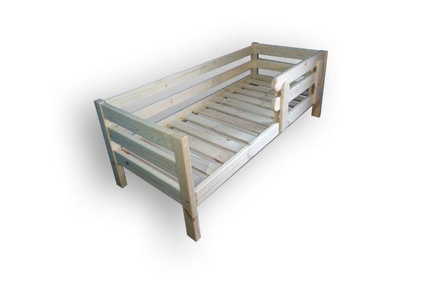 Деревянная кровать Нота 90х190. Массив. Дерев'яне ліжко