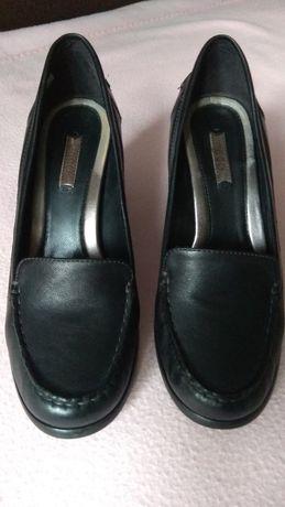 czarne buty Ecco, rozmiar 37