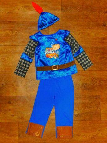 костюм рыцарь майк 3-4 года 104 Marks&Spencer новогодний карнавальный