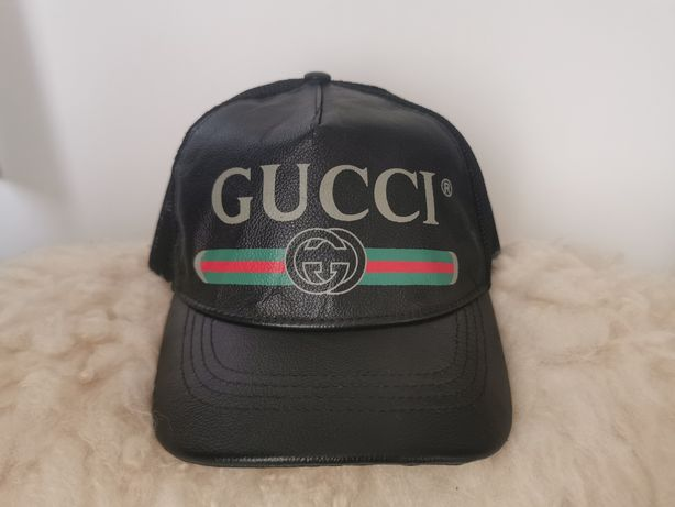 Czapka Gucci leather Cap