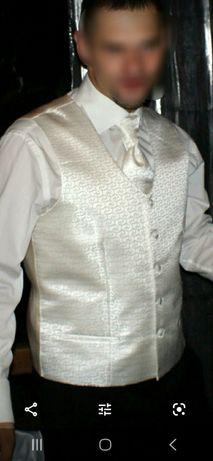 Kamizelka ślubna i musznik Sunset Suits Carlo L
