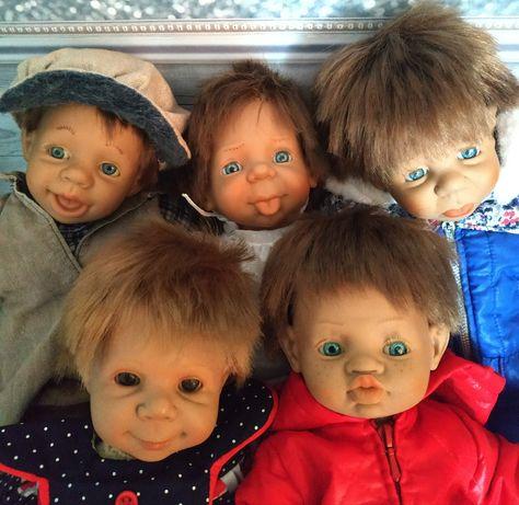 Куклы характерные лот