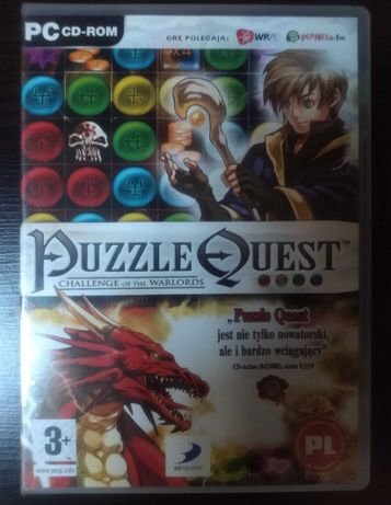 "Gra ""PUZZLE QUEST Challenge of the Warlords"" na PC firmy CDPROJEKT"
