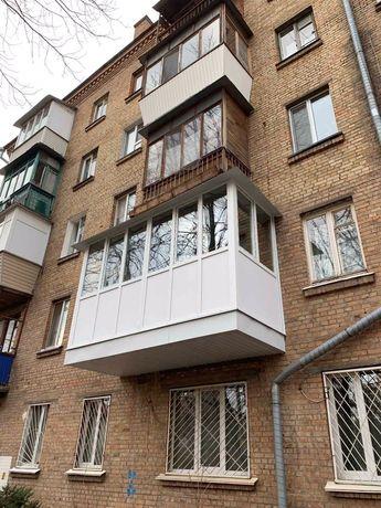 Балкон под ключ , ремонт балконов