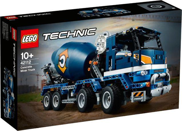 Lego Technic 42112 (Бетономешалка )