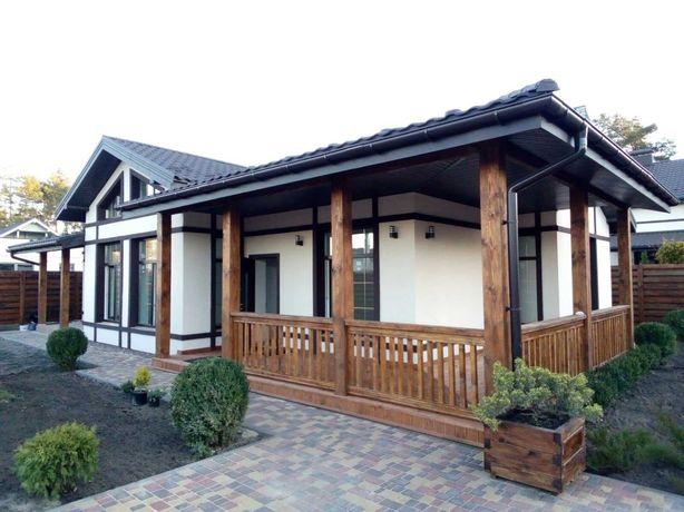 Одноэтажный готовый дом в Буче  с начальным ремонтом