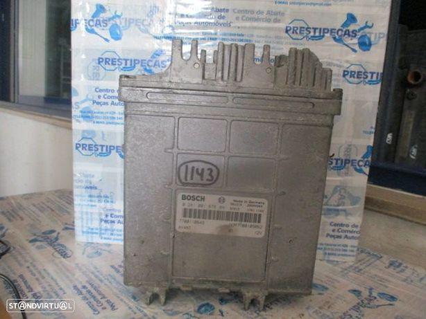 Centralina 0281001878 7700110649 RENAULT / CLIO 2 / 1999 / 1.9DCI /