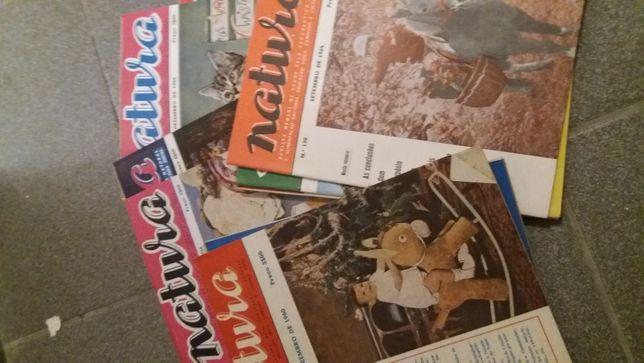 Revista natura antigas