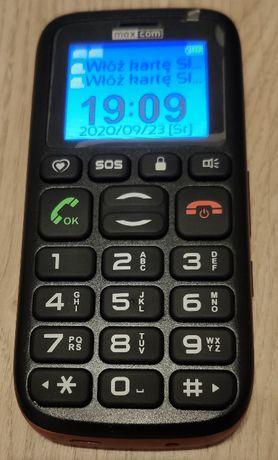 Telefon dla seniora Maxcom MM428BB Dual SIM