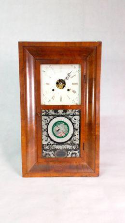Wiszący stary zegar antyk staroć