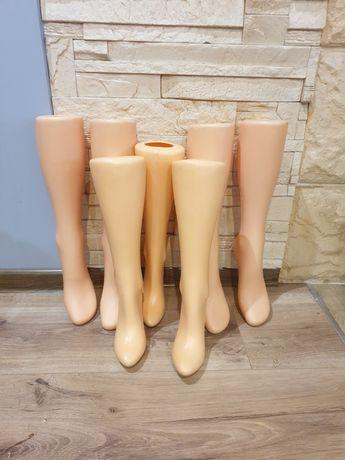 Nogi ekspozycyjne na rajstopy, podkolanówki