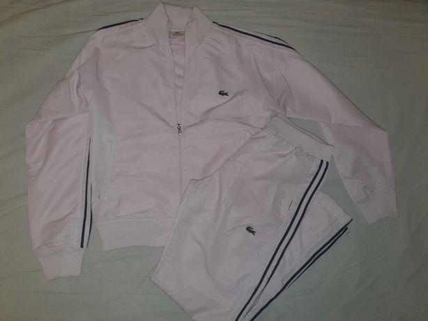 Dres Lacoste rozm 12 L bluza rozpinana i spodnie komplet