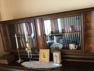 kredens, komoda ,stół przedwojenny zestaw stołowy