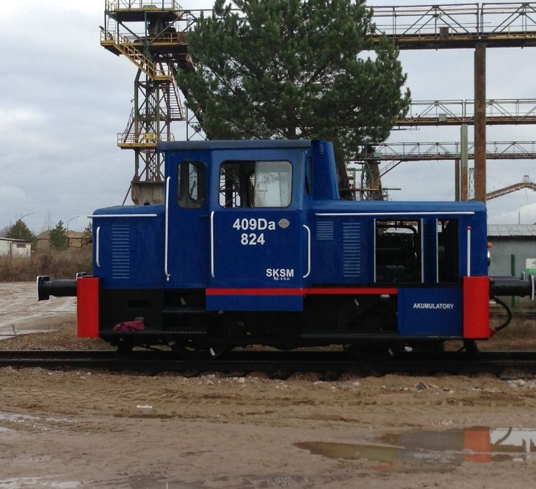 Lokomotywa 409 Da manewrowa - stan BDB oraz wagony Eamos 437W Suwałki - image 1
