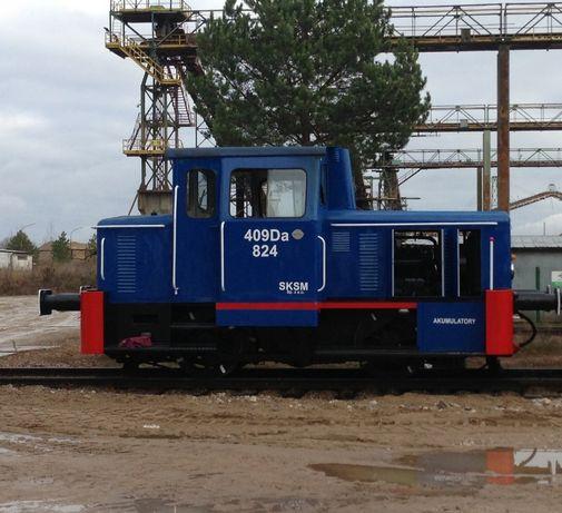 Lokomotywa 409 Da manewrowa - stan BDB oraz wagony Eamos 437W