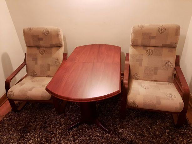 Sprzedam dwa fotele+ława