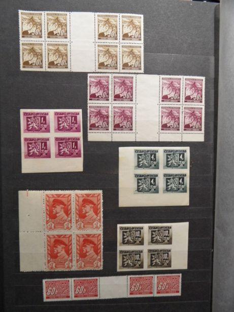 znaczki pocztowe czwórki pustopole czyste