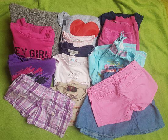 Zestaw ubrań dla dziewczynki 134 16 sztuk H&M Cubus Reserved CoolClub