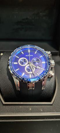Швейцарские новые часы Edox Grand Ocean Chronograph 10226 3BUCA BUIN