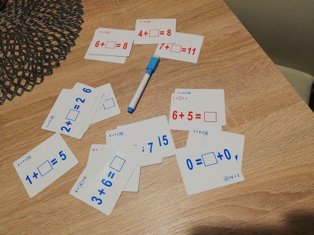 karty do nauki liczenia