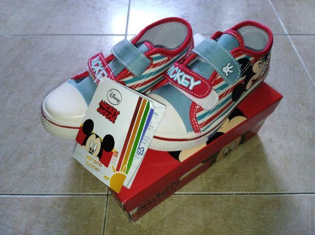 Tenis Mickey - Tamanho 30 - NOVOS
