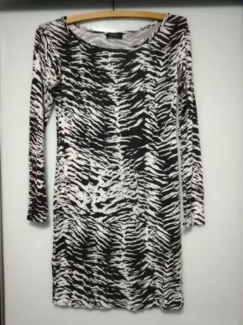 Sukienka w zebrę M/L