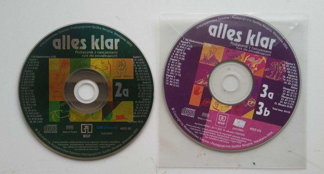 Alles Klar płyty CD 2a 3a 3b