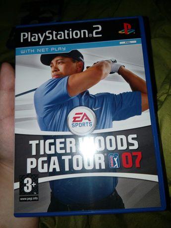 Jogo Tiger Woods PGA Tour 07 para a PS2 completo