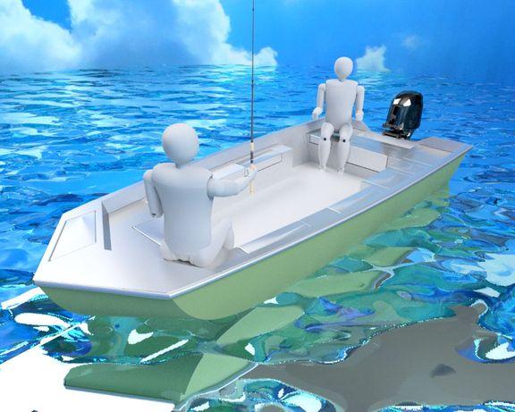 MOON 470 CatFish - aluminiowa łódka wędkarska - idealna na suma!