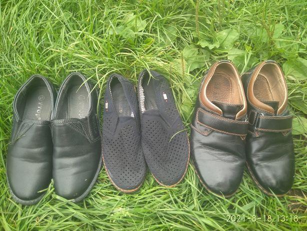 Туфлі шкільні Туфли в школу мальчику хлопчику 30 31 34