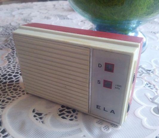 Unitra radio ELA - PRL.