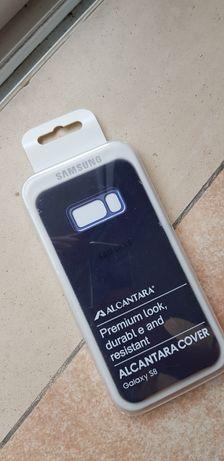 Vendo Capa Samsung S8 Alcântara Azul