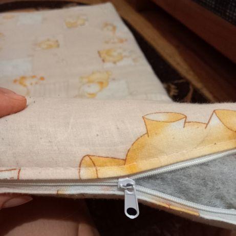 Матрас в детскую кроватку, кокос