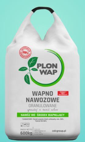 PlonWap Wapno nawozowe granulowane bigbag 24t