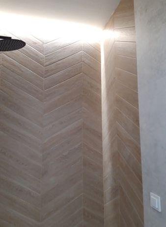 Tanio! Płytki jodełka Woodchoice Ragno Chevron Sugar 11x54 (1.88 m2)
