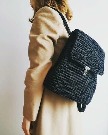 Рюкзак ( в'язаний рюкзак, вязаный рюкзак)