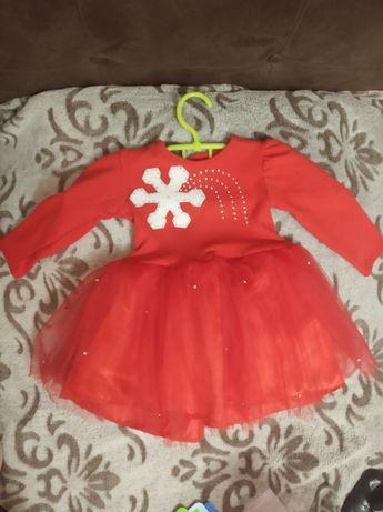 Платье децкое новогоднее