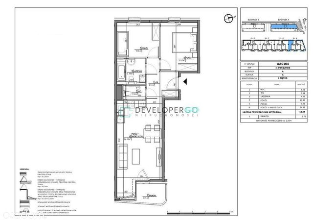 Mieszkanie 3 pokojowe , Bemowo - blisko metro