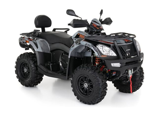 Cf Moto GOES 550 COBALT MAX T3b TGB ATV Quad Grizzly Raty Transport