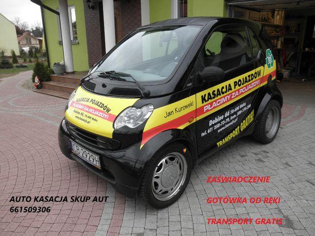 Skup Pojazdów Kasacja Pojazdów Dobino